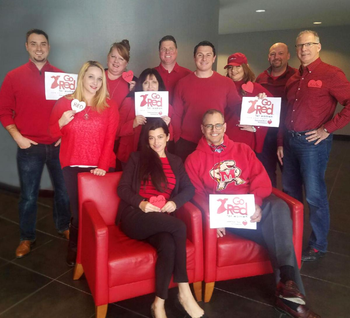 TSG Financial on National Wear Red Day 2017